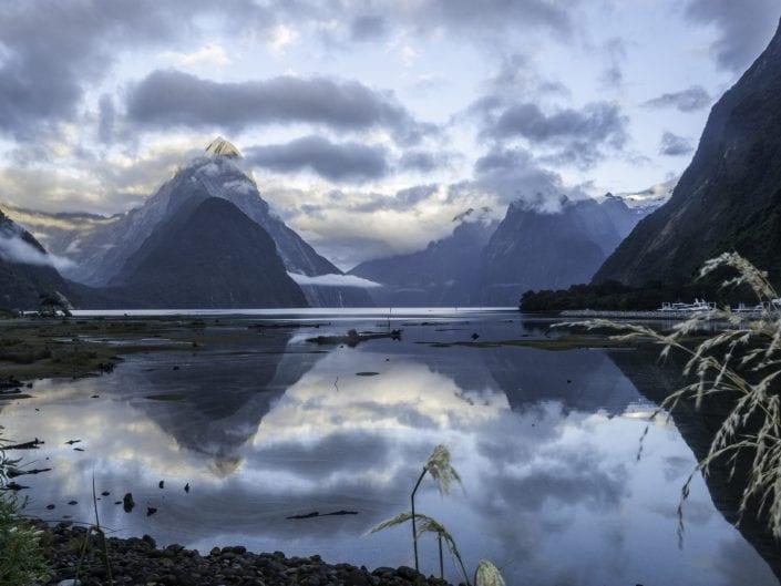landscape photo, Milford Sound, New Zealand, South Island