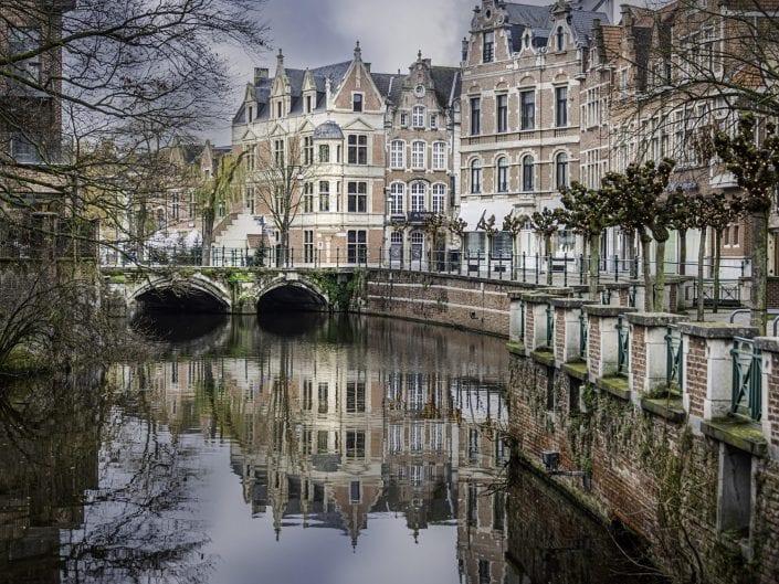 Lier City reflection
