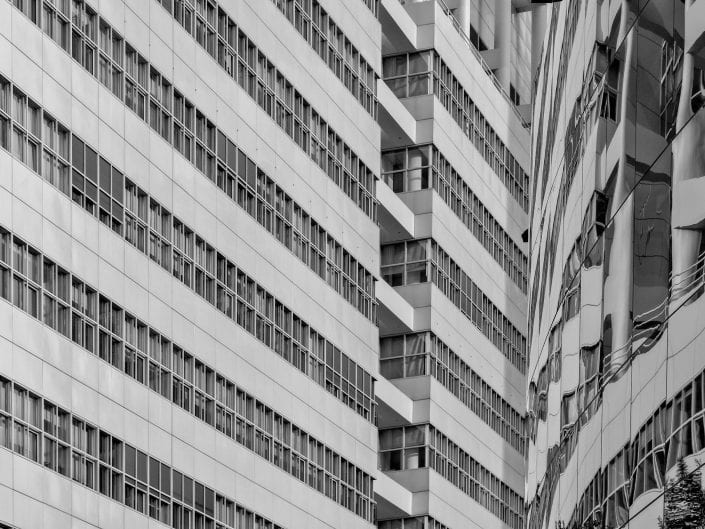 architecture photo den haag netherlands townhall facade the hague black and white