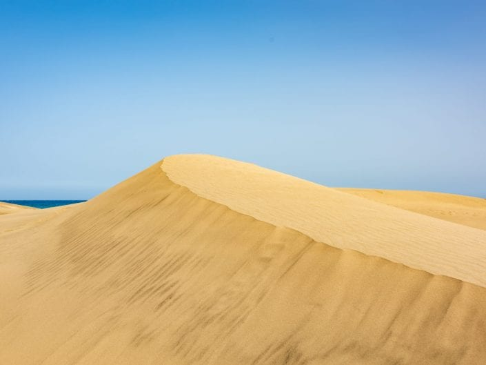 landscape desert Mas palomas gran canaria, dunes, sand ,sky