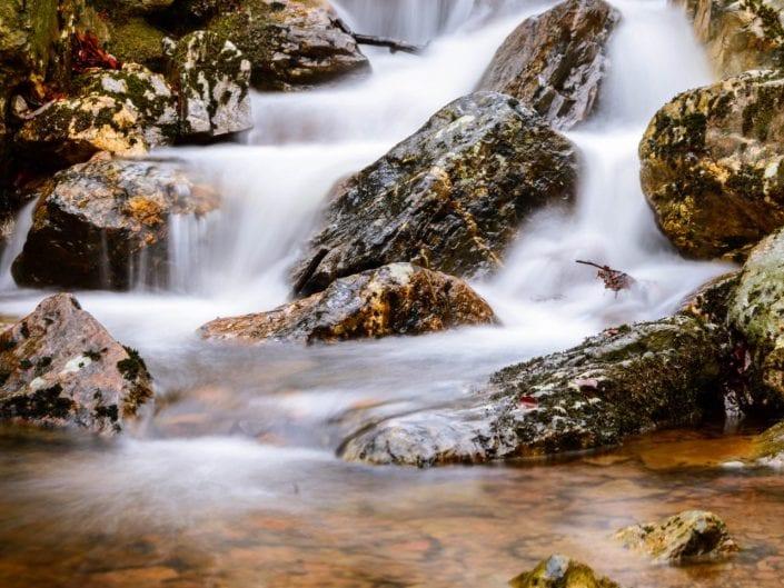 long exposure on small stream near Spa Belgium waterscape landscape