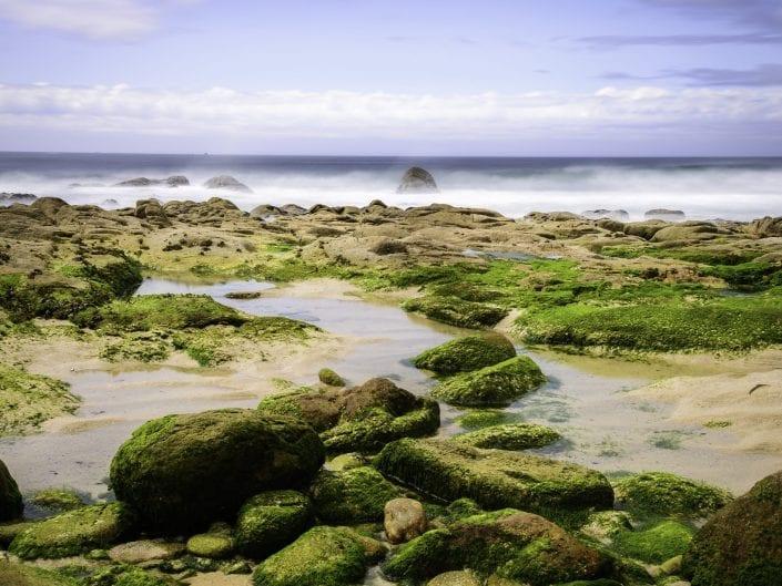 long exposure beach Galicia