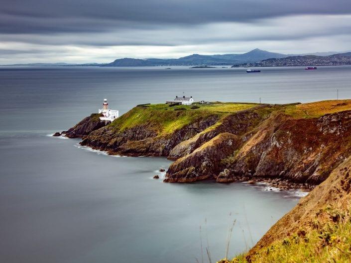 Howth Head Dublin Ireland, lighthouse