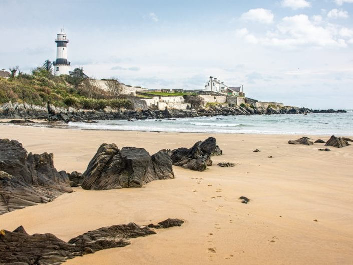 early morning photo at the small beach near Stroove lighthouse in the very northern part of the Republic of Ireland