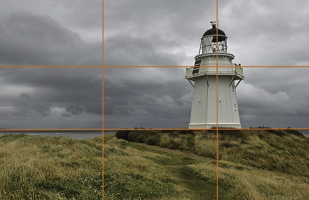 New Zealand- lighthouse rule of thirds