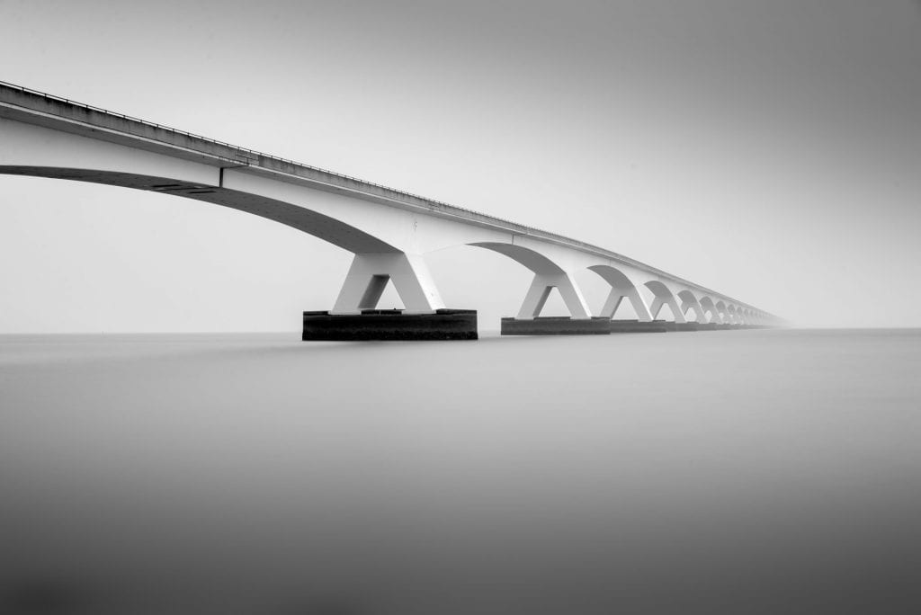 waterscape photography Bridge The Netherlands