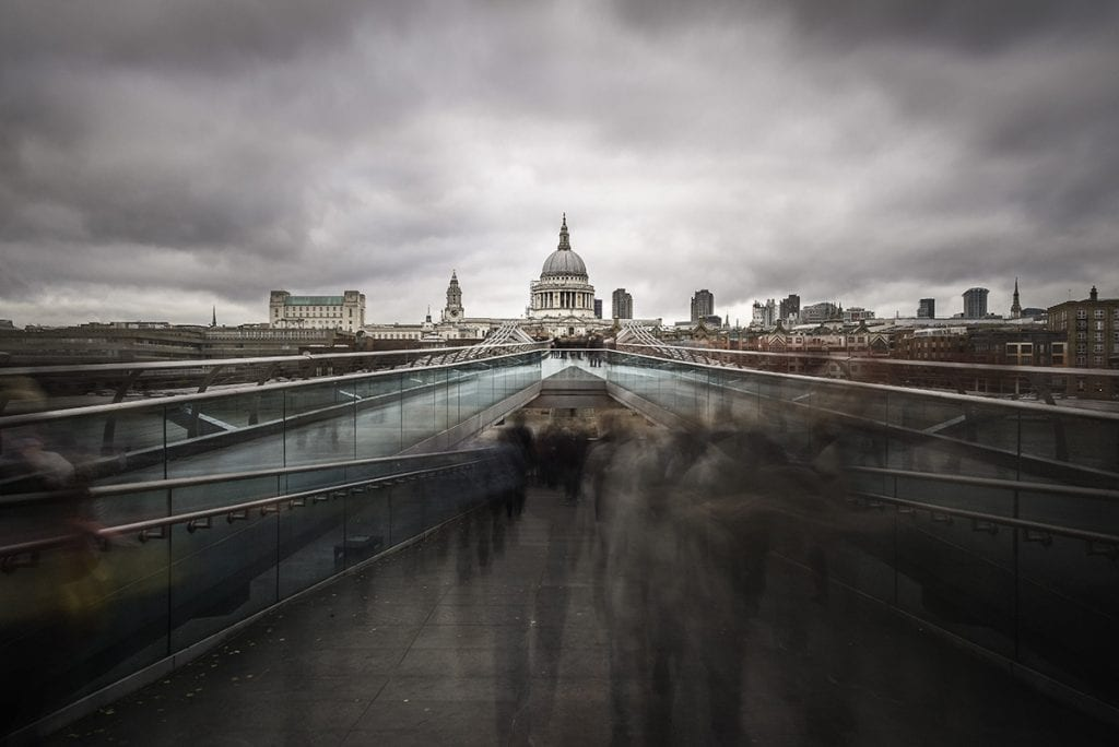 Architecture bridge london