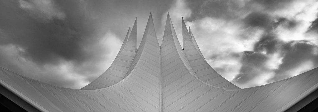Architectural photography black and white