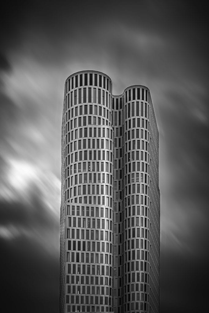 Black and white architectural photography berlin